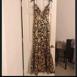 dec72eba375e4 Windsor Dresses   Marielle Black Carnevale Prom Dress   Poshmark
